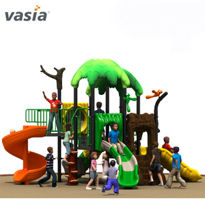 Natural Lovely High Quality Play Slide Backyard Playscape Equipment