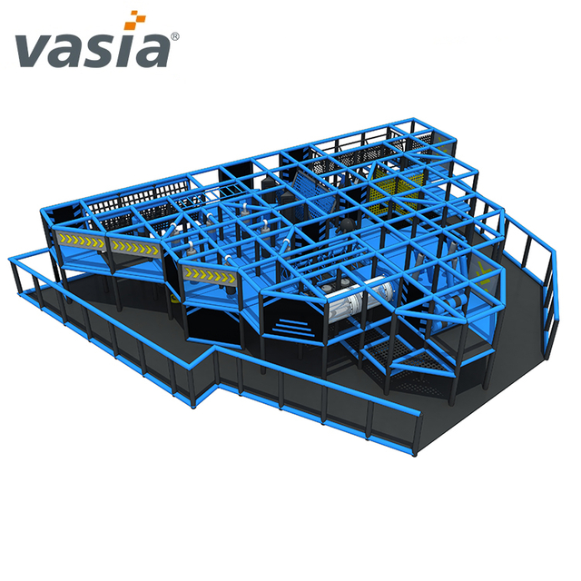 Ninja Course Soft Indoor Playground Shopping Mall for Ninja School