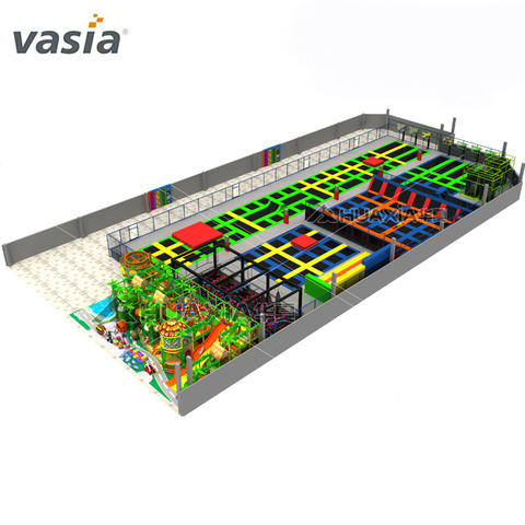 Professional Customized Colorful Children Jumping Trampoline Park
