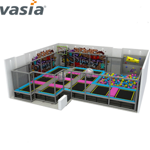 2020 New TUV Kids Free Zone Jumping Trampoline Park for Sale