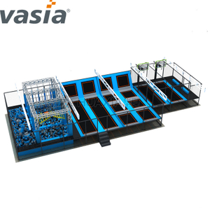 HUAXIA(Vasia) commerical indoor equipment trampoline park indoor playground for sale