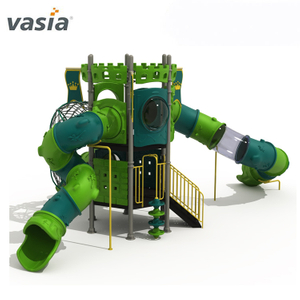 Professional Safe Adventure Tube Slide Play Equipment Children Playground