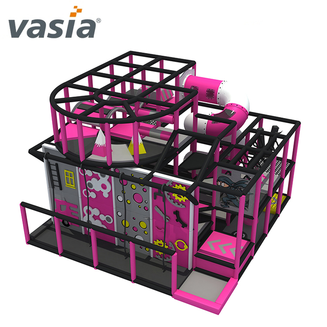 Interesting Ninja Course Soft Indoor Playground for Ninja School
