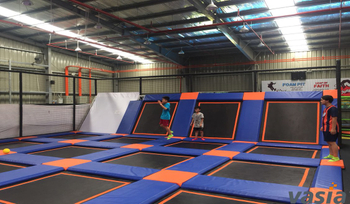 How to disinfect adventure indoor trampoline park during COVID-19 pandemic?