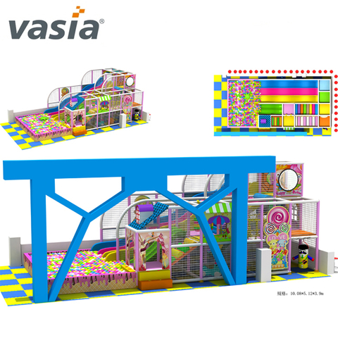 Poly Poly Fun Children's Indoor Playground with Competitive Price And Professional Soft