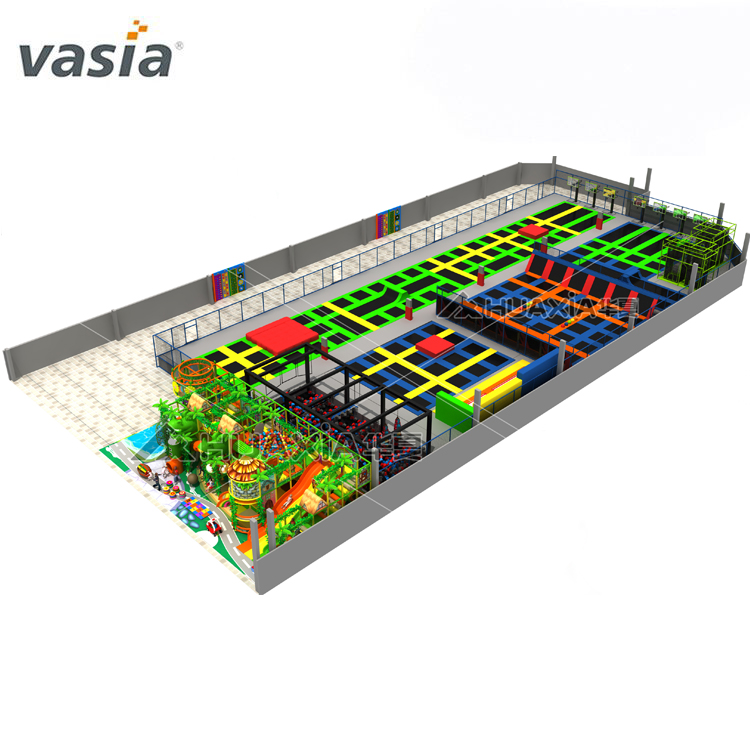 Vasia European Standard Trampoline Park for Kids And Adult High Quality