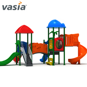 Plastic Outdoor Kids Amusement Slide Backyard Playground Equipment