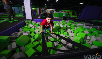 What are the strict regulations for indoor trampoline park?