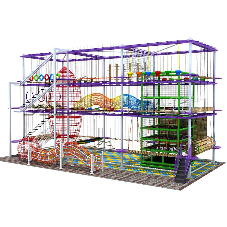 Funcational Physical Exercise Play Games Rope Obstacle Course Activities