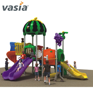 New Design School Fruit Series Outdoor Playground Sliding Board Toys for Kids