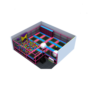 Children big indoor trampoline free jumping trampoline indoor park