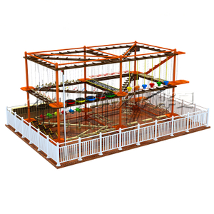 Children Commercial rope course Indoor Playground Equipment