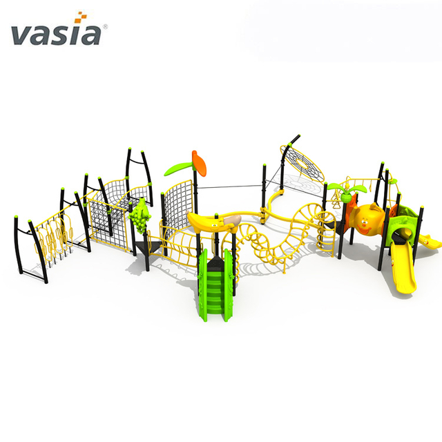 Happy Safe Play Swing with Monkey Bars Kids Playground