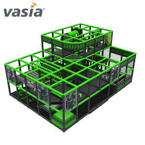 Vasia Shopping Mall Ninja Course Soft Indoor Playground for Ninja School