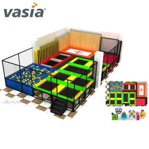 Big Size Amazing Funny Professional Indoor Trampoline Park