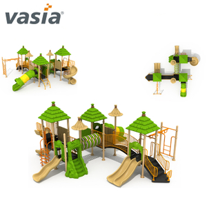 Big Outdoor Best Swing Design Play Slide And Castle Game Playground