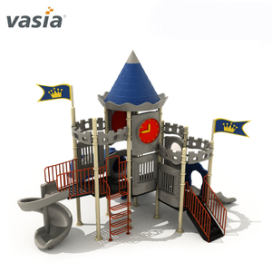 Big CastleTheme Safe Children's Outdoor Playground Equipment