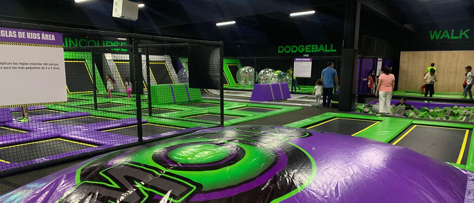 Mexican asia Trampoline Park
